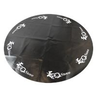 Fireproof Mat XL Round Protector floor and nature against fire