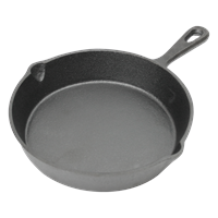 Frying Pan in Cast Iron Cast Iron Pan with high edge